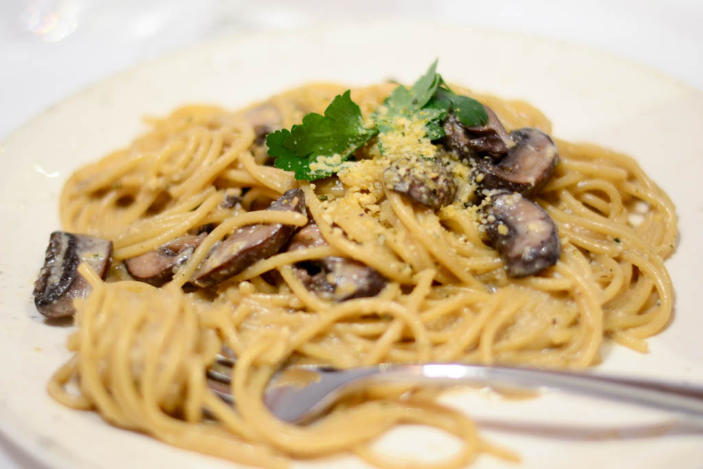 Creamy Mushroom Fettuccini